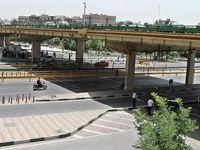 نصب پل گیشا در نقطهای دیگر از تهران