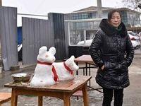 فروش آدم برفی در چین