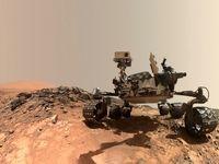 سلفی در مریخ! +عکس