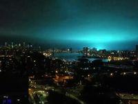 آبی شدن آسمان نیویورک +فیلم