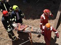 سقوط کارگر ساختمانی از طبقه ۲۲ یک برج