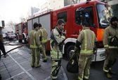 آتشسوزی در کارگاه مبلسازی هزار مترمربعی