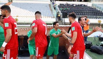 گزارش تصویری از بازی تیم ملی فوتبال با تیم امیدها +تصاویر
