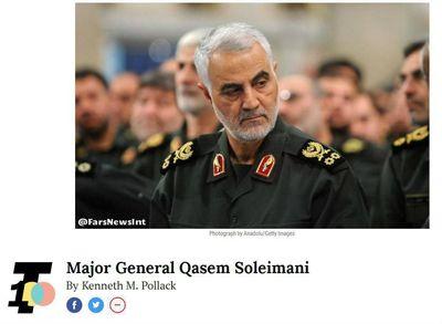 سردار سلیمانی یکی از ۱۰۰ شخصیت قدرتمند جهان +عکس