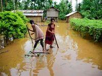 آوارگی میلیونها نفر در جنوب آسیا +تصاویر