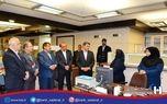 بازدید مدیران ارشد بانک صادرات ایران در واپسین ساعات کاری سال ٩٦ از تلاش کارکنان شعب