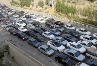 ترافیک ۲۵کیلومتری در رودبار