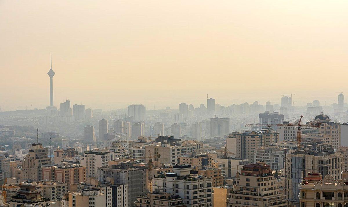عبور شاخص آلودگی هوا از مرز ۲۰۰واحد در شرق تهران