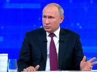 پوتین: روسیه در امور داخلی دیگر کشورها مداخله نمیکند