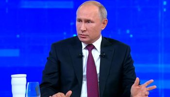ریزش آرای حامیان کرملین در مسکو
