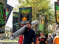بازار تهران حال و هوای محرم گرفت +تصاویر