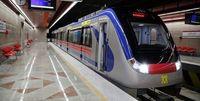 کاهش سرویس دهی مترو پایتخت به مسافران