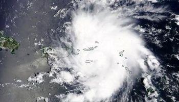 طوفان شدید در ژاپن +فیلم