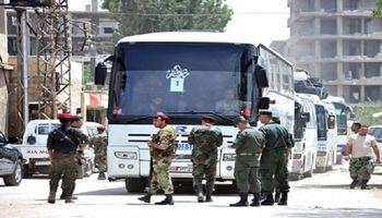 ۲هزار تروریست از جنوب دمشق خارج شدند