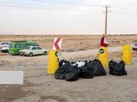 انباشت زباله در مهران +عکس