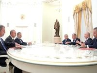 پوتین: همکاری با ایران و ترکیه باعث حل و فصل بحران سوریه شد