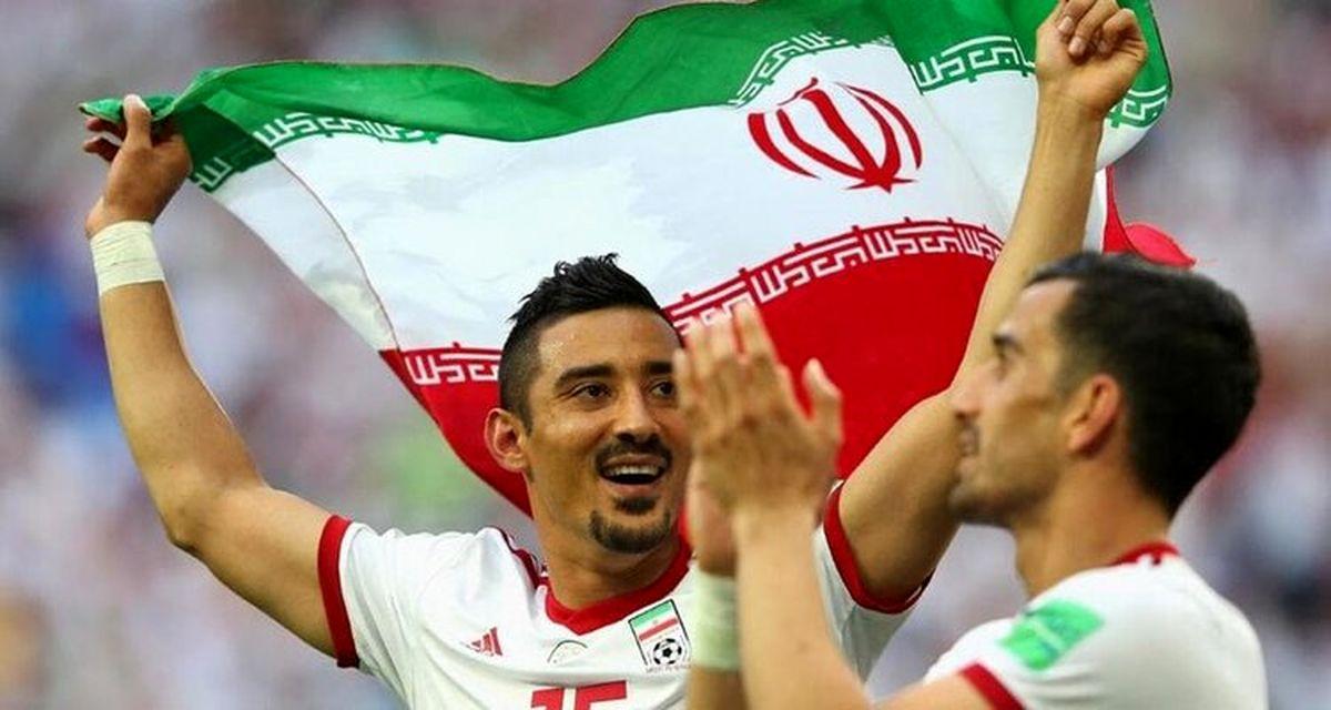 واکنش جالب فوتبالیست مشهور به ویدیوی شادی استاد شجریان +عکس