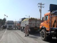 بسته شدن مجدد مرز میلک توسط رانندگان افغانستانی