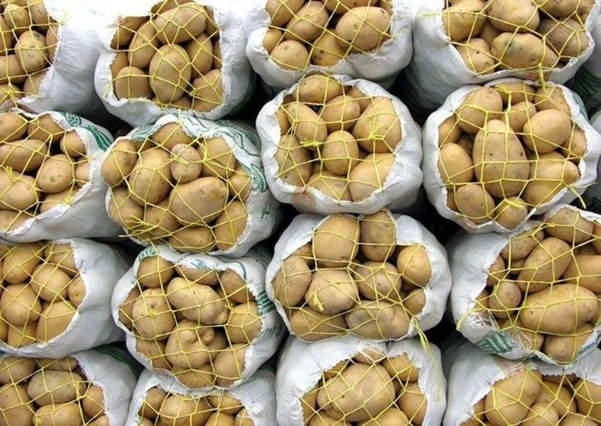 تجمع ۱۱۰۰کامیونی حمل سیب زمینی صادراتی در گمرک