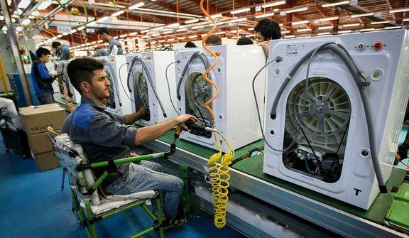 توقف رشد منفی تولیدات صنعتی