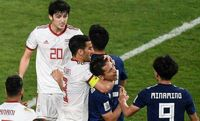 وقتی حاجصفی قصد داشت بازیکن ژاپن را خفه کند +عکس