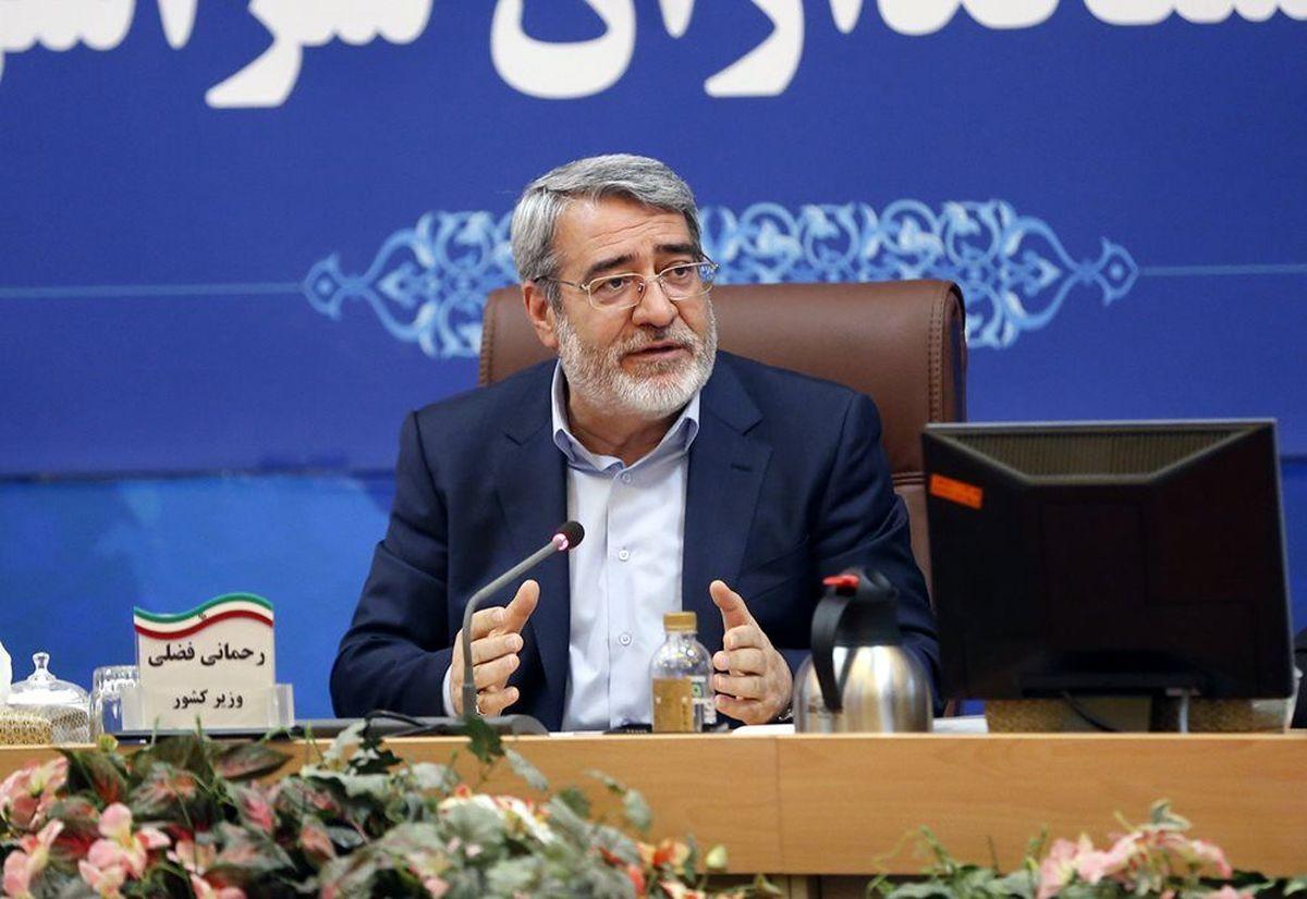 وزیر کشور: ۲جمعه متوالی را برای دور دوم انتخابات پیشنهاد دادیم