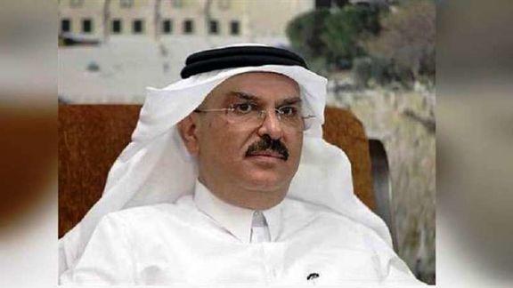 خودرو سفیر قطر در نوار غزه سنگ باران شد