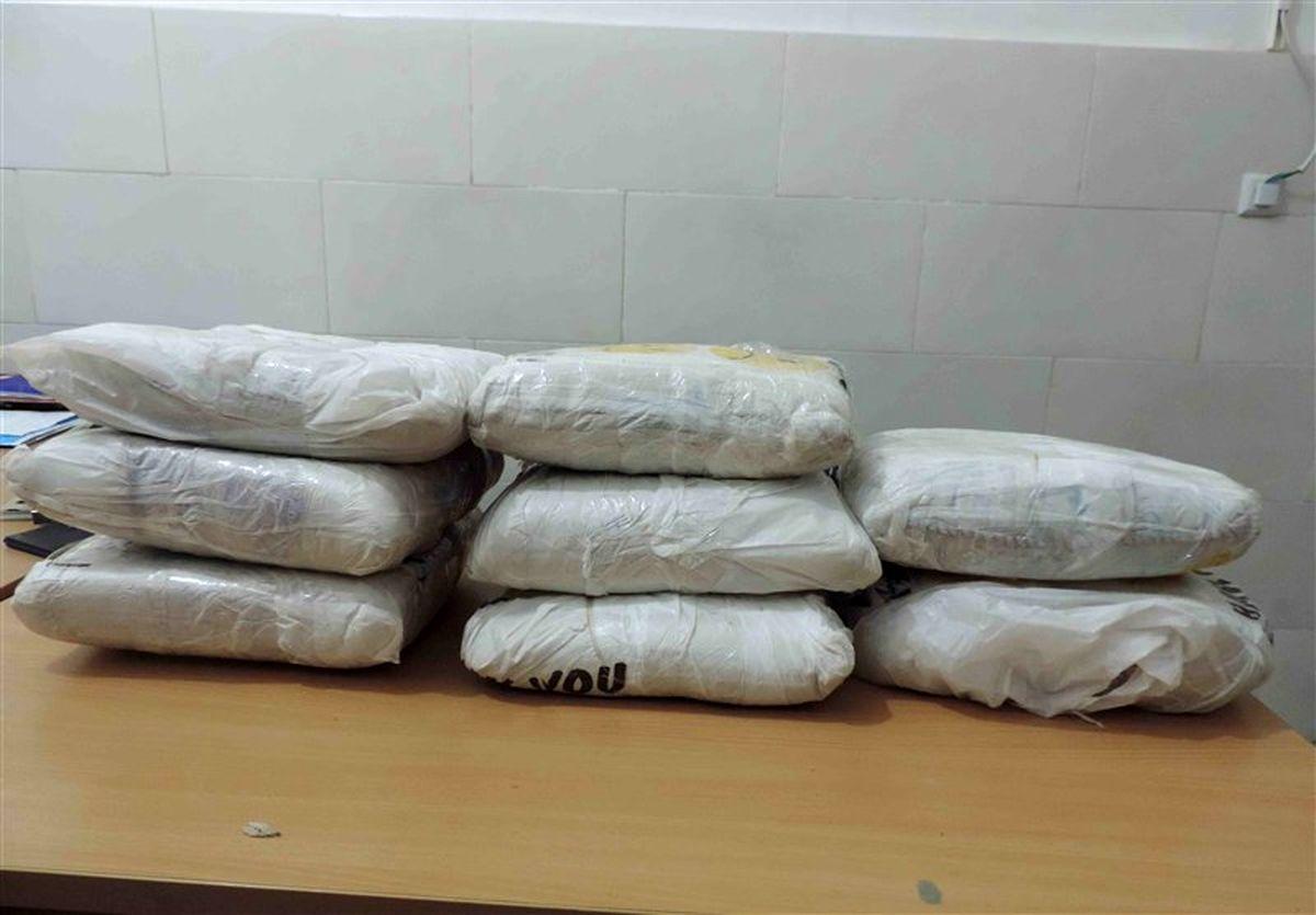 کشف ۸.۵تن مواد مخدر در آذربایجانغربی