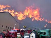 درپی آتش سوزی مناطق شمالی کالیفرنیا منازل خود را ترک کردند