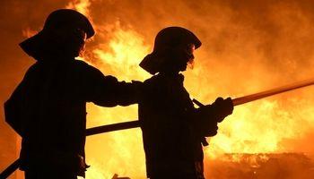 آتشسوزی در برج مروارید مشهد