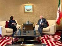 دیدار ظریف با دبیرکل سازمان ملل در قطر
