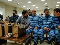 پنجمین جلسه محاکمه رضوی و متهمان بانک سرمایه +عکس