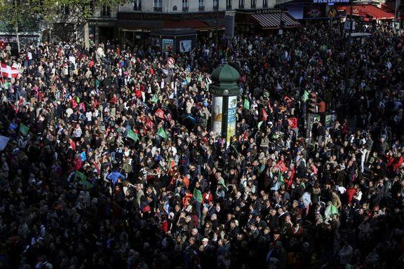 تظاهرات دهها هزار فرانسوی علیه لایحه بحث برانگیز دولت مکرون