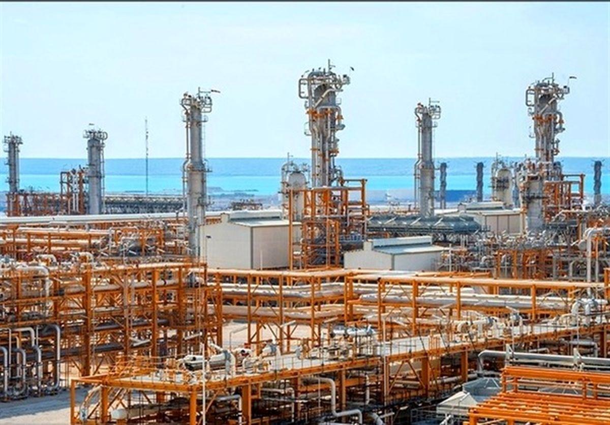 رشد تولید سالانه گاز از میدان مشترک پارس جنوبی
