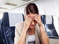 ۱۳ دلیل بیماری و استرس در سفر