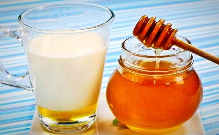 سم شیر و عسل داغ