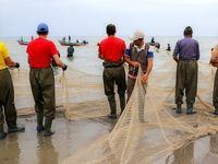 صید«ماهیان استخوانی» در دریای خزر +عکس