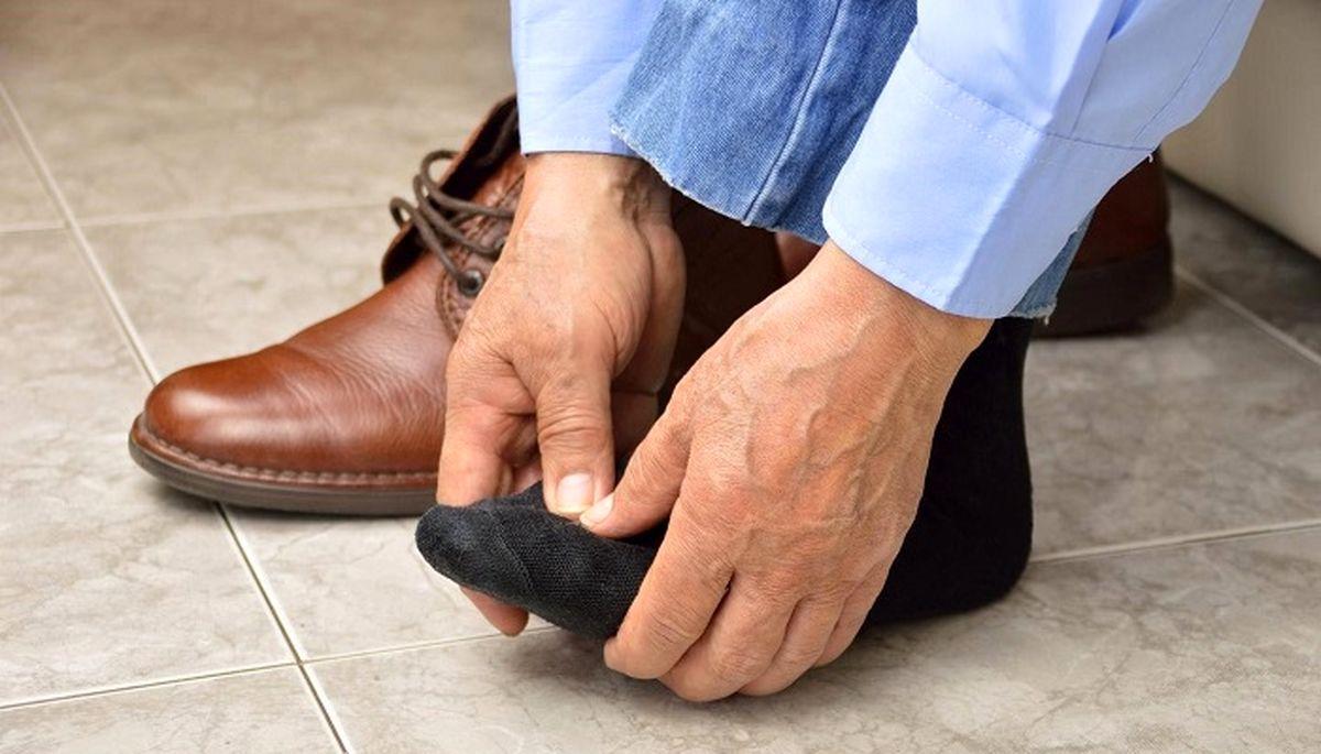 وقتی پاها سنگین میشوند