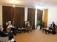جلسه تعاملی مدیرعامل ذوب آهن و مسولان شهرستان لنجان