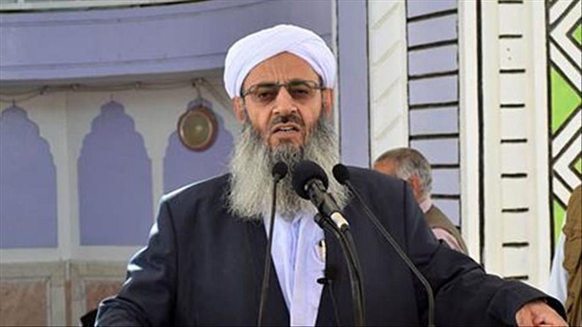امام جمعه زاهدان: طالبان دارای ریشه مردمی است