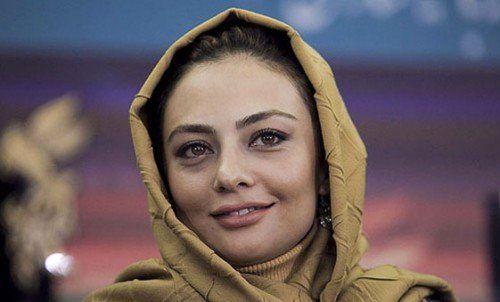 سلفی خانم بازیگر در سرمای جاده چالوس +عکس