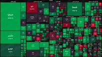 نقشه بورس امروز بر اساس ارزش معاملات/ سبزپوشی تابلوی معاملات در دقایق ابتدایی بازار