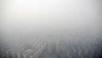 سئول غرق در دود و مه +تصاویر