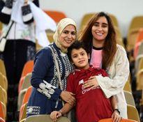 زنان عربستانی تماشاگر سوپرکاپ ایتالیا +تصاویر