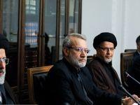 جلسه شورای عالی انقلاب فرهنگی در پاستور، اما به ریاست لاریجانی +تصاویر