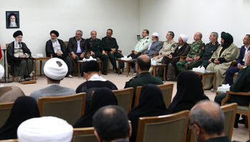 رهبر انقلاب: شهادت در کردستان با فداکاری و مجاهدت توأم بود