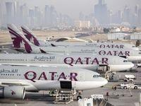 تغییر مسیر ۸۰ پرواز قطری به آسمان ایران