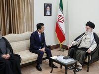 رهبر انقلاب در دیدار با نخست وزیر ژاپن چه گفتند؟ +فیلم