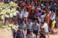 بازداشت خبرنگاران در میانمار +تصاویر