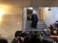 ورود روحانی به وزارتکشور جهت ثبتنام در انتخابات +تکمیلی